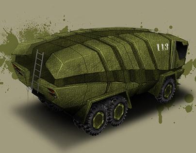 Vehicle decontamination/Concept/ 2013