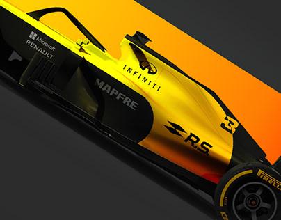 Formula 1 Liveries