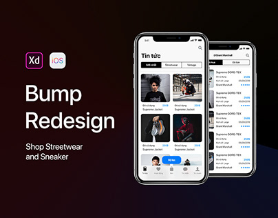 Bump Redesign - Shop streetwear and sneaker