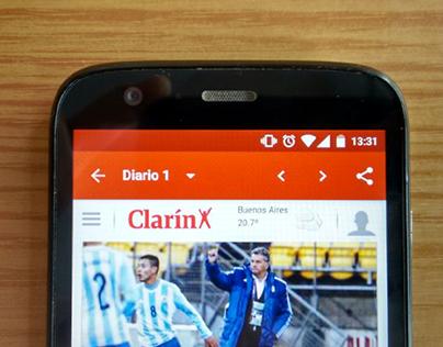 Periodicos Argentinos – Material app