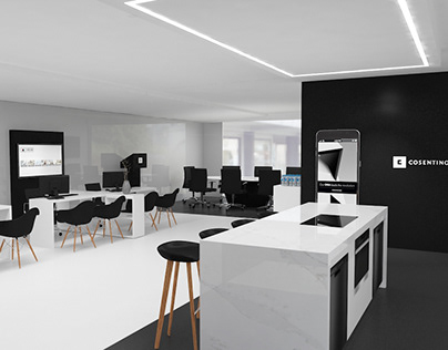 Mobile Unit - Proposal 2ados-Cosentino, Spain.