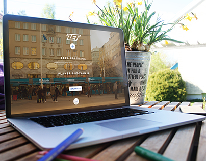 ZET Website Redesign (Public Transport in Zagreb)