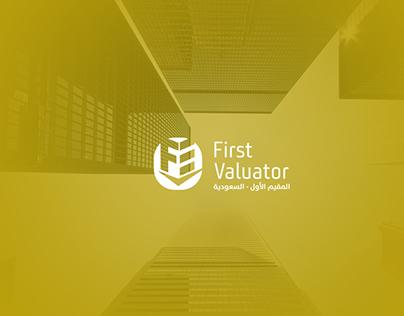 First Valuator logo