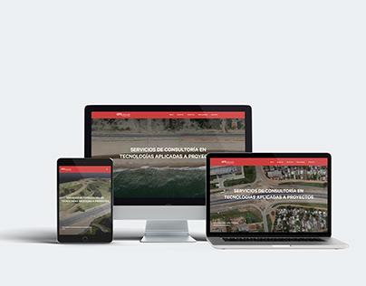 Drone Service Provider Website.