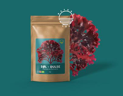 Organic Dulse Label Design