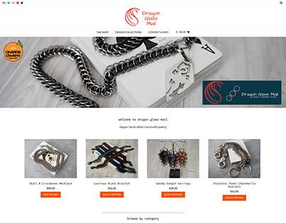 Branding + Web Design For Dragon Glass Mail