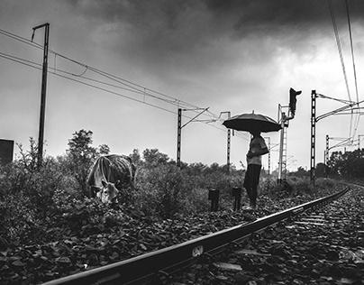 Rainscape Of ALockdowned Platform