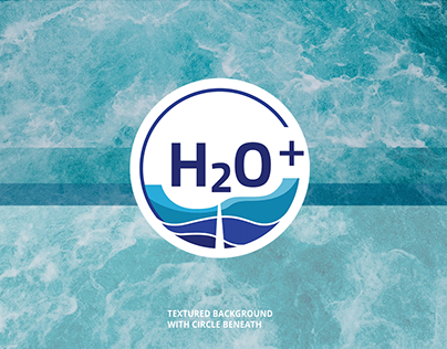 Logo design for water drilling company H2O+