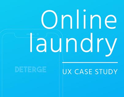 Deterge   Laundry App   UX Case Study