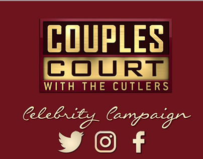 Couples Court with the Cutlers Celebrity Campaign