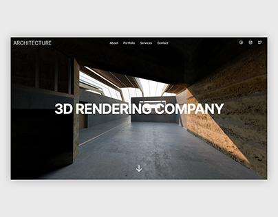 ARCHITECTURE | Website, UI/UX