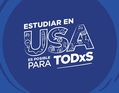 Estudiar en USA es posible para TODxS