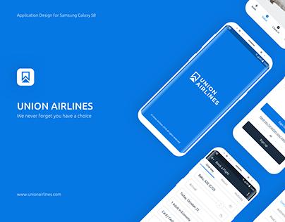 Application Design Concept for Samsung Galaxy S8