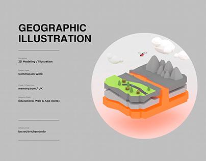 Geographic Illustration