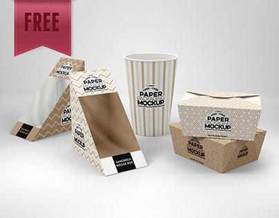 FREE Paper Deli Mockup Packaging - UPDATED