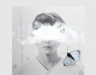 """Blue & Grey"" EP by V | concept design"
