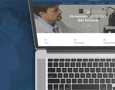 Orienta Consulting: Scuola di Ottica Sicilia - Website