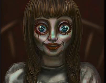 Annabelle Fanart Illustration
