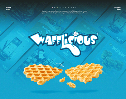 Wafflicious | printing project