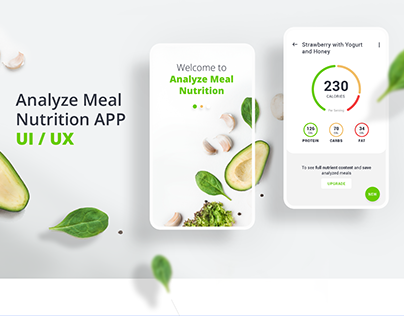 Nutrition App - UI/UX Concept and Process