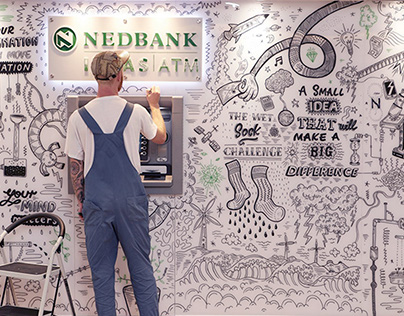 Nedbank Ideas ATM - Live Drawing