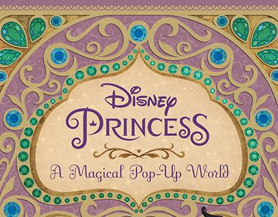 Disney Princess Pop-Up: Cover Design/Illustration