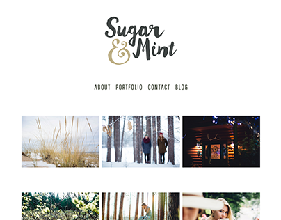 Sugar & Mint Website