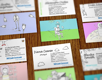Funny business cards for Mccanners
