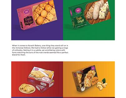 Package Design For Karachi Bakery