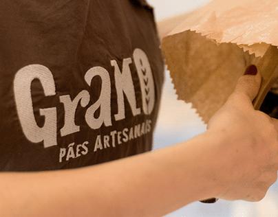 Grano Pães Artesanais | Brand Identity