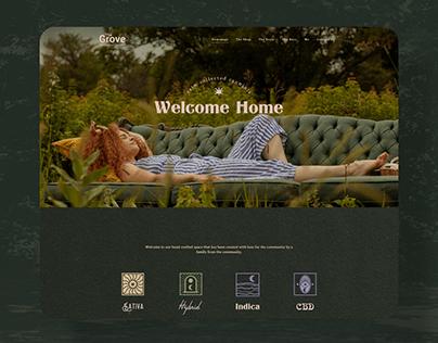 The Grove - Website Design
