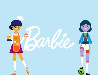 BBDO Mattel | Barbie character design