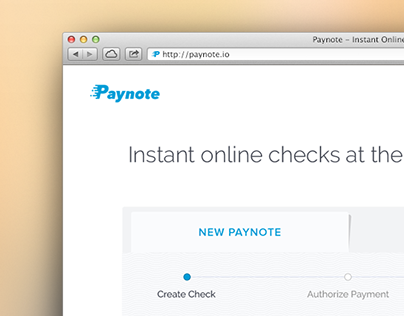 Paynote - Instant Online Checks