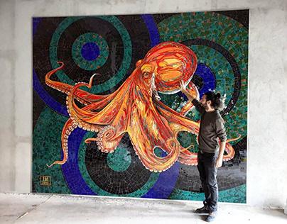 Octopus- mosaic