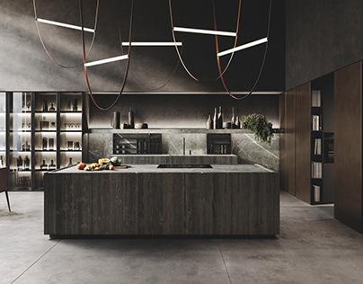 Kitchen Realistic Render #136
