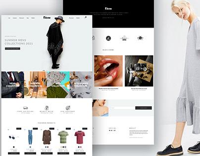 Ecommerce Website using Elementor Pro