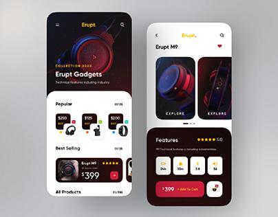 gadjet store app by sajon