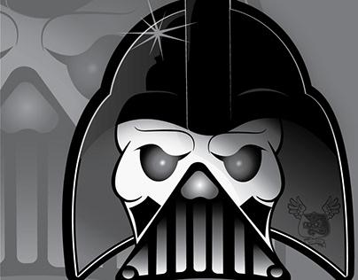 Skelevader (Darth Vader/Skeletor Mash-Up