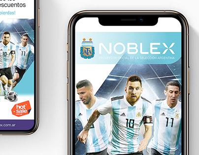 NOBLEX. Banners digitales.