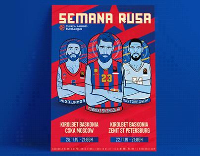 Poster Semana Rusa Baskonia