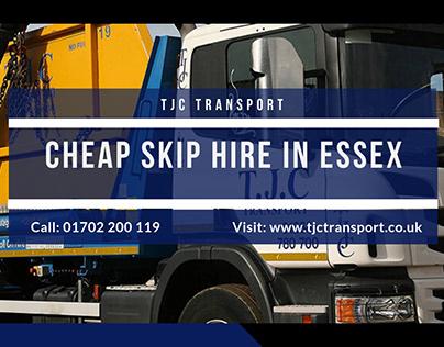 Skip Hire Essex - TJC Transport