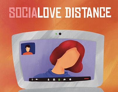Socialove Distance   Comuniteca Poster Contest