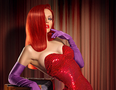 Jessica Rabbit Before/After