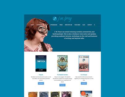 J.M. Frey Website & Email Design