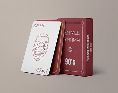 """Benimle Oynama 90s"" - Playing Card Design"