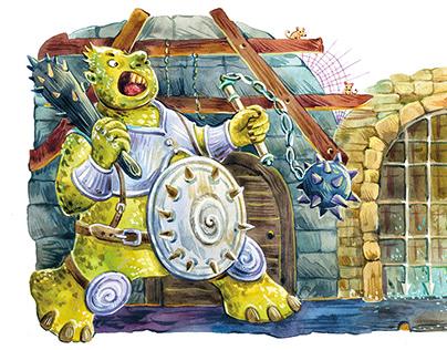 Illustrations for children's books + character design