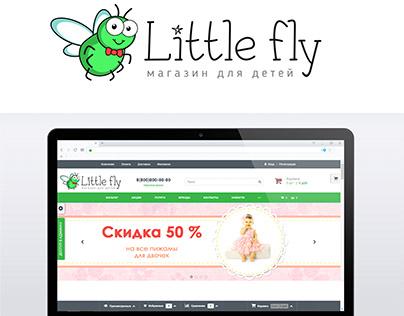 Логотип для компании LIttle Fly