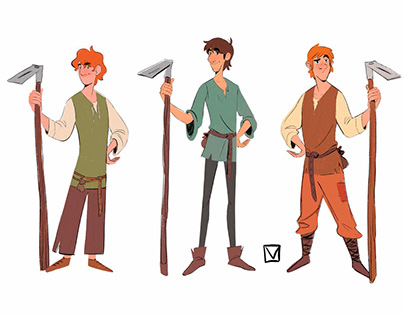 The Sleeping Knights - Characters exploration