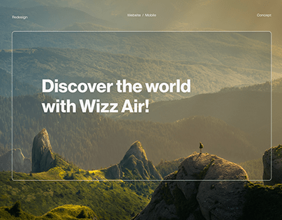 Wizz Air Redesign Concept