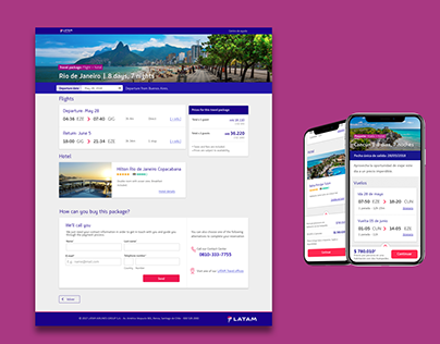 LATAM Travel - packages